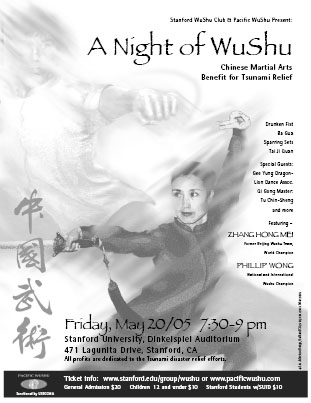 A Night of Wushu flyer